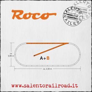 ROCO Geo Line 61101 Set B Tracks With Roadbed - 1/87 Cod. 83