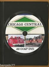 All CHICAGO CENTRAL PACIFIC on DVD 29 Years Ago in 1988. Road, Yard, WigWag+++