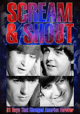 The Beatles: Scream and Shout - 31 Days That Changed America Forever (DVD, 2016)