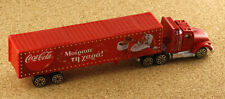 Greece Coca-Cola Promotional Truck Christmas Santa Claus Greek Text