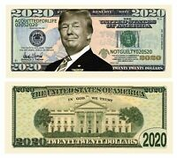 Donald Trump 2020 Acquitted for Life - Pack of 100 - Presidential Dollars