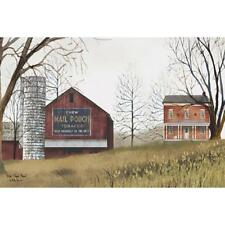 Billy Jacobs Mail Pouch Barn Country  Art Print 18 x 12