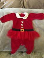 Next Baby Girls Santa Christmas Outfit Up To 1 Month