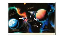 Star Trek - To Boldly Go Lithograph Signed by William Shatner, Patrick Stewart +