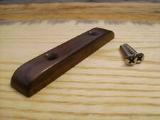 Rosewood Bass Guitar Thumb Rest ~~~ Low Profile Design