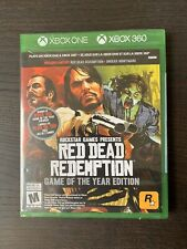 Red Dead Redemption & Undead Nightmare XBox One/360 Brand New Sealed Canada GOTY