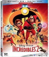 The Incredibles 2 Plus Auntie Edna Mini-Movie Blu-Ray Dvd Digital Slipcover New
