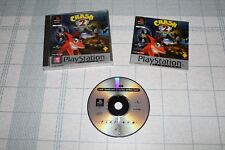 "PSX PLATINUM ""CRASH BANDICOOT 2"" VERSION PAL ESPAÑA Y COMPLETO"
