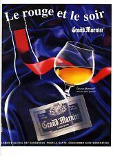 1995 : Liqueur Grand Marnier – Alcool (advertising)