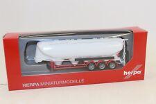 Herpa 075909 2 Semi-remorque silo 3 essieux 1:87 H0 neuf emballage d'origine