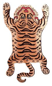 Rug USA Tibetan Tiger Rug 4x6 Size Rug, carpet 100 % Woollen Hand Tufted
