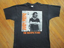 JOHN PRINE CONCERT T SHIRT Missing Years Everything Is Cool Tour 1991-92 vtg 90s