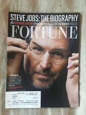 FORTUNE Magazine November 7, 2011 STEVE JOBS: The Biography