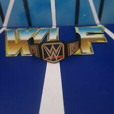 WWE Championship Belt (V1) - Mattel Accessories for WWE Wrestling Figures