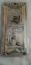 NEW! 1896 ATHENS CENTENNIAL COLLECTION OLYMPIC GAMES PIN-CARDS- NIP