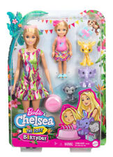 More details for barbie and chelsea the lost birthday dolls and pets playset