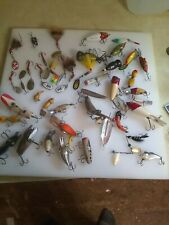 Antique heddon fishing lures plus other great stuff!