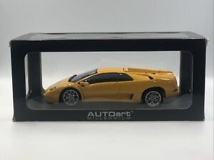 AUTOart Millennium Lamborghini Diablo 6.0 Yellow 74526 1:18 Scale Model In Box
