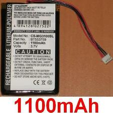 Batterie 1100mAh type BT553759 Pour Typhoon MyGuide 3100