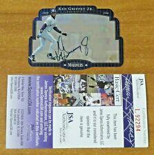 1996 SPX Ken Griffey Jr. Baseball HOF Autographed Card with JSA COA