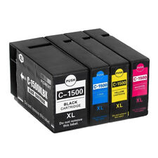 4 Compatible 1500XL Multipack Ink Cartridges For Canon MB 2050 2150 2350 2750 Ne