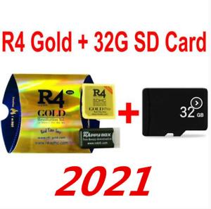 R4i Gold Pro Für DS / 3DS / 2DS Revolution Cartridge mit USB-Adapter+ 32G Karte