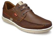 Calzado de hombre Zapatos informales con cordones de color principal marrón