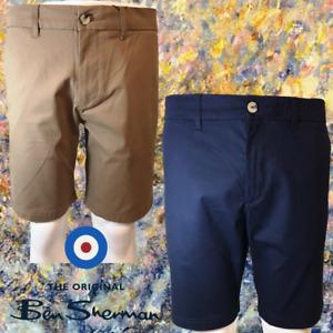 Men's Ben Sherman Zip fly and button fastening Chino Shorts Trouser RP $69.00