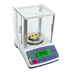 Tree HRB-1002 Laboratory Balance Scale 1000g x 0.01g with Glass Draft Shield