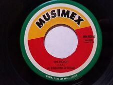 """LOS ARISTOCRATAS de CHICAGO - Sin Razon / La Pirinola 1970's CUMBIA Musimex 7"""""""