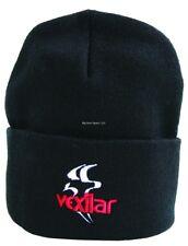 *New Vexilar Stocking Hat Cap Black W/Logo Cap005