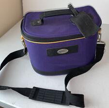 Gloria Vanderbilt Cosmetic Travel Bag With Lock And Keys