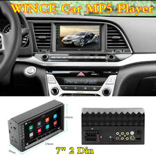 WINCE Car 2 DIN 7Inch HD Audio USB Aux-in MP5 FM Player Bluetooth Stereo Radio