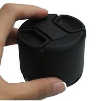 77mm Tele Metal Screw-in Lens Hood For Canon Nikon Sony Olympus Camera+cap