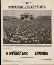 1983 Fleetwood Mac & Loverboy Westwood One Ad