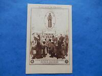 💙 IMAGE PIEUSE SANTINO HOLY CARD NOTRE DAME DE PONTMAIN apparition MON FILS 💙