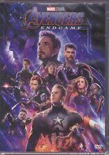 dvd Marvel AVENGERS ENDGAME Thor Iron Man Hulk Captain America Antman nuovo 2019