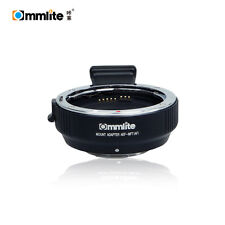 Commlite Auto Focus CM-AEF-MFT AF Adapter Canon EOS lens to Micro 4/3 GH4 OM-D