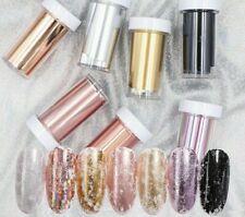 Manicure Art Nail Foil Glitter Transfer Sticker Decal Laser Paper Design Supply