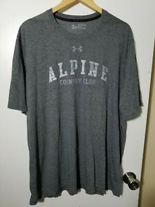 1 NWT UNDER ARMOUR MEN'S T-SHIRT, SIZE: 2X-LARGE, COLOR: GRAY HEATHER (J77)