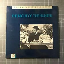 The Night Of The Hunter Laserdisc - Ld