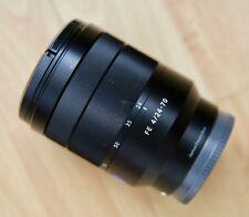 Sony Carl Zeiss Vario-Tessar FE 24-70 mm F/4 ZA OSS T * SEL2470Z Lens E-Mount
