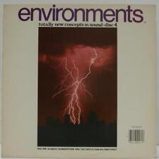 ENVIRONMENTS - DISC 4 (ULTIMATE THUNDERSTORM/GENTLE PINE FOREST RAIN) - VINYL LP