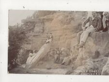 Lovers Seat Hastings Sussex Vintage RP Postcard 607b