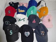 9ff3dafa1ef10 Lot of 15 Seattle Mariners Baseball Cap Dad Hat Strapback Visor Woman Women  Girl