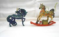 Trail of Painted Ponies Santa's Workshop & White Christmas (2 Ornaments) w1s2