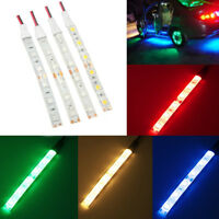 1x 10cm Waterproof White blue RED 5050 LED Strip Lights DC 12V Caravan Boat Car