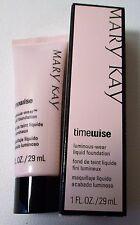 Mary Kay timewise Luminous-wear liquid foundation 1 fl oz (IVORY 4)