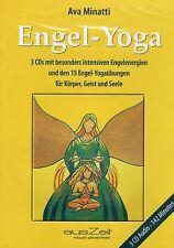 ENGEL-YOGA - 3 Audio CD mit Ava Minatti ( Österreich ) - NEU OVP