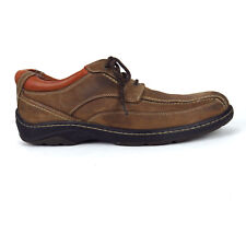 Johnston and Murphy Shoes Mens Size 11 M Brown Oxfords Waterproof XC4 Sheepskin